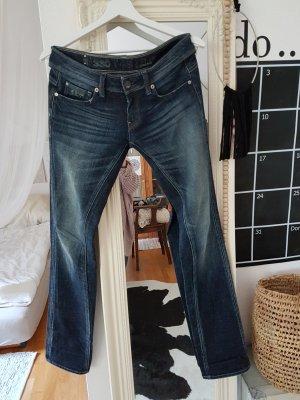 G-Star Jeansy z prostymi nogawkami niebieski-ciemnoniebieski