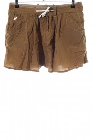 G-Star Plaid Skirt bronze-colored casual look