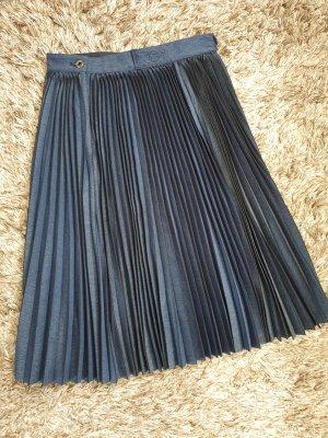 G-Star Plaid Skirt blue-dark blue