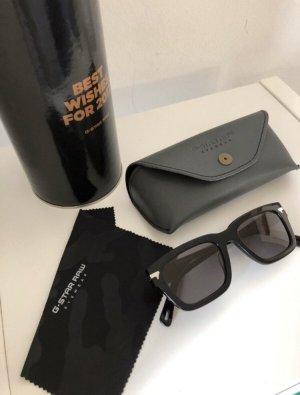 G-Star Raw Vierkante bril zwart
