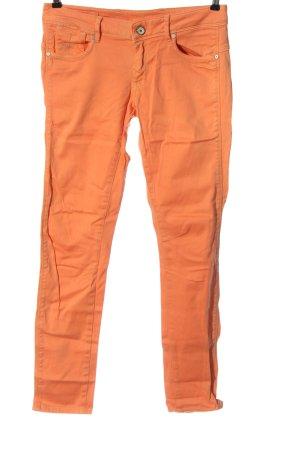 G-Star Pantalon cinq poches orange clair style décontracté