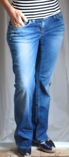 G-Star Flared Jeans 3301, hellblau mit dezenten Waschungen, Bootcut, ausgestellt, hüftig, mittlere Bundhöhe, Mid Waist, NEU, ungetragen, W29 L32 (Gr. 38)