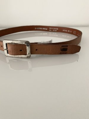 G-Star Raw Leather Belt brown