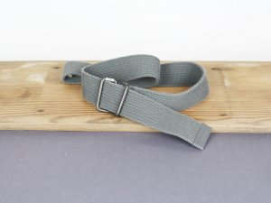 G-Star Raw Cinturón de lona gris Algodón