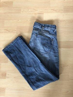 G-Star Jeansy z prostymi nogawkami niebieski