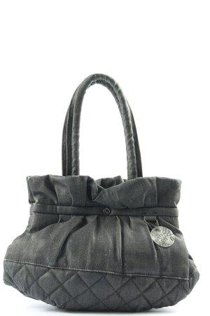 G-Star Sac Baril noir motif de courtepointe style décontracté