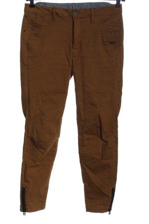 G-Star Pantalone a vita alta marrone stile casual