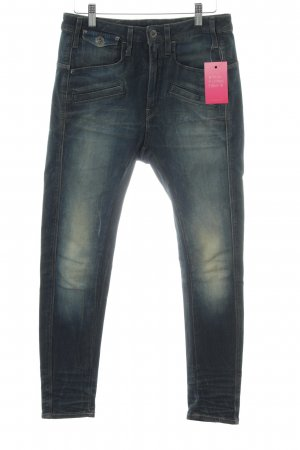 G-Star Hoge taille jeans blauw casual uitstraling