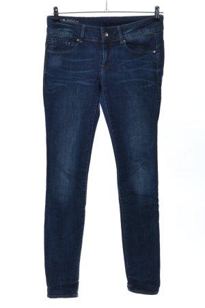 G-Star Jeansy z wysokim stanem niebieski W stylu casual