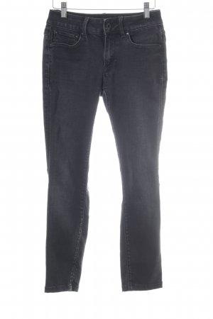 G-Star Hoge taille jeans zwart kleurverloop casual uitstraling