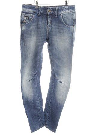 G-Star High Waist Jeans stahlblau Jeans-Optik