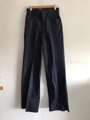 G-Star Jeans taille haute bleu foncé