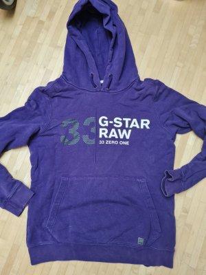 G-Star Jersey con capucha violeta oscuro-violeta azulado