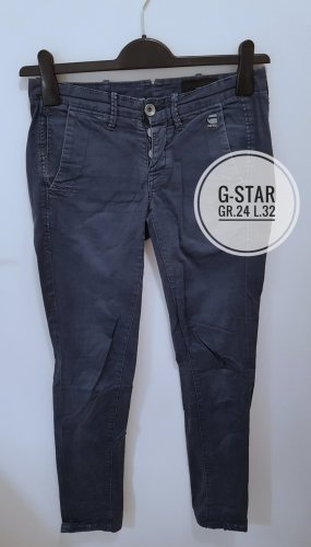 G-Star Low-Rise Trousers dark blue