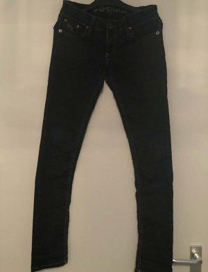G-Star Jeans vita bassa blu scuro
