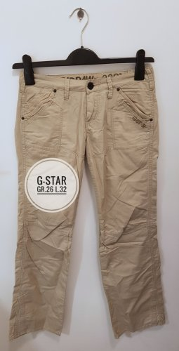G-Star Low-Rise Trousers cream