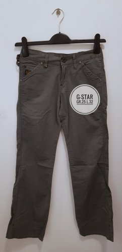 G-Star Low-Rise Trousers green grey
