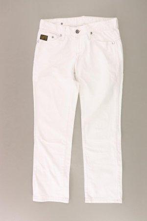 G-Star Hose Größe W29 weiß aus Baumwolle