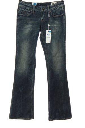 G-Star Jeans taille basse bleu style décontracté