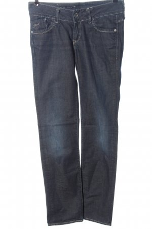 G-Star Jeans vita bassa blu stile casual
