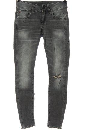 G-Star Jeans taille basse gris clair style décontracté