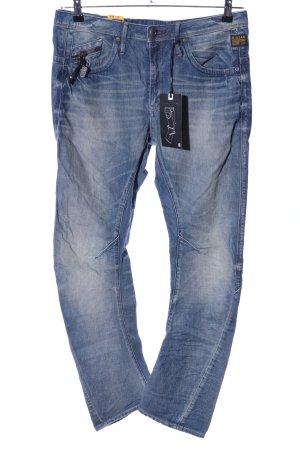 G-Star Jeansy biodrówki niebieski