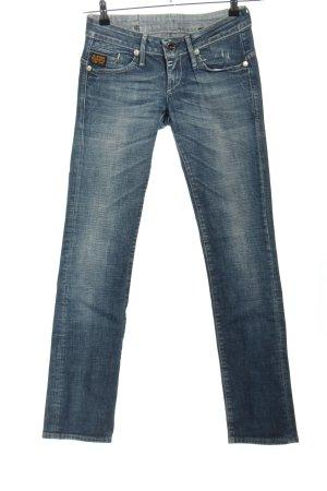 G-Star Low Rise Jeans blue mixture fibre