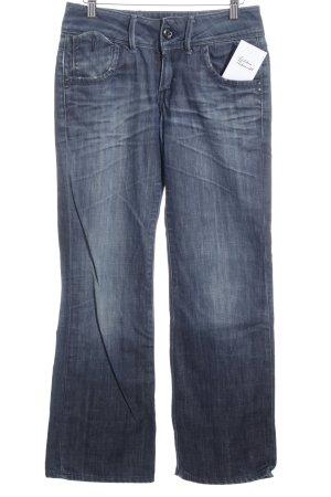 G-Star Hüftjeans blau Street-Fashion-Look