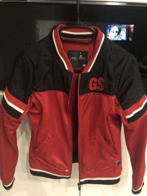 G-Star Raw Bluzon czarny-ciemnoczerwony