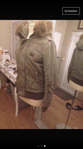 G-Star Biker Jacket khaki