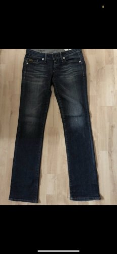 G-Star Straight Leg Jeans dark blue