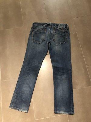 G-Star Jeans vita bassa blu