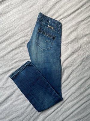G-Star Raw Jeansy z prostymi nogawkami niebieski-stalowy niebieski