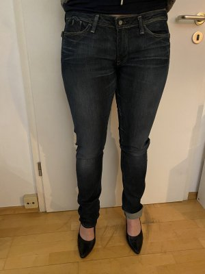 G-Star Raw Low Rise jeans donkerblauw