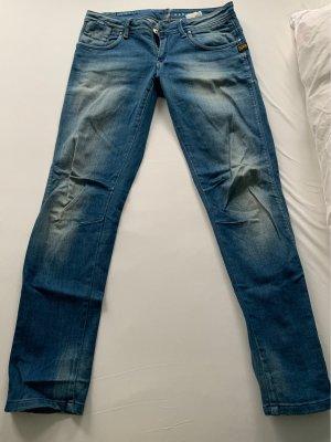 Gstar Jeans slim bleu-bleu azur