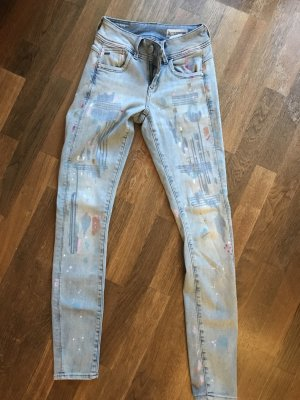 Big Star Tube Jeans blue