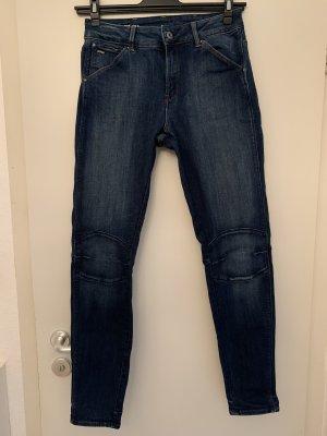 G-Star Jeans taille haute bleu