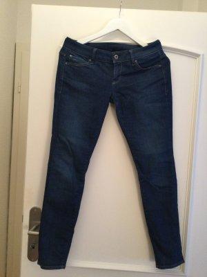 G-Star Raw Jeansy z prostymi nogawkami stalowy niebieski