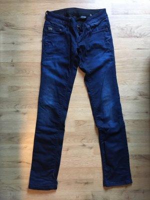 G-Star Jeans cigarette bleu-bleu foncé