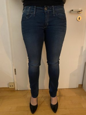 G-Star Raw Low Rise jeans blauw