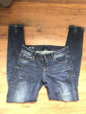 G-Star Jeans a sigaretta blu scuro-blu