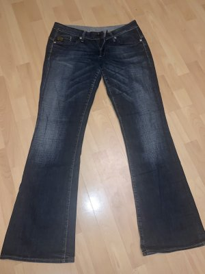 G-Star Boot Cut Jeans dark blue-blue