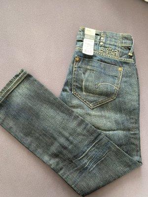 G-Star Raw Jeans slim bleu-bleu acier