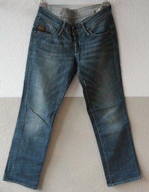 G-Star Jeans coupe-droite gris ardoise-bleu pâle