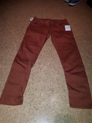 G-Star Jeans Gr 29/30 orange/braun wie neu