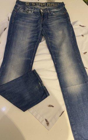 G-Star Raw Jeansy z prostymi nogawkami jasnoniebieski-niebieski