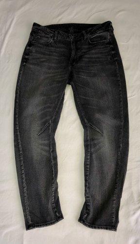 G-STAR WOMEN Boyfriend Jeans black-dark grey