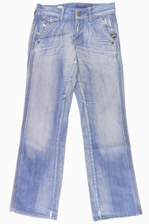 G-Star Denim Flares blue-neon blue-dark blue-azure cotton