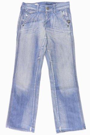 G-Star Denim Flares blue-neon blue-dark blue-azure cotton