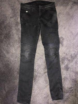 Gstar Jeans de moto noir-gris